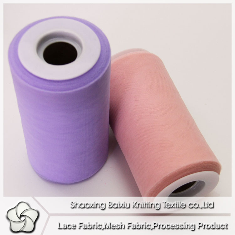 Colors nylon tulle roll wholesale