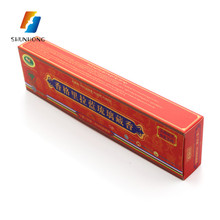 Cheap Custom small Paper incense Packaging foldable Box