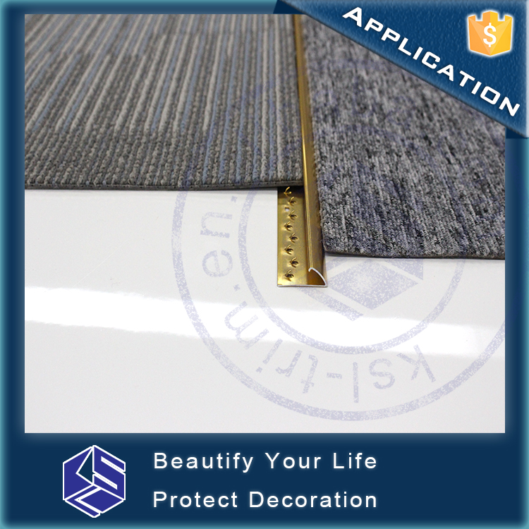 31mm width Underlayment aluminum metal aluminum carpet cover strips
