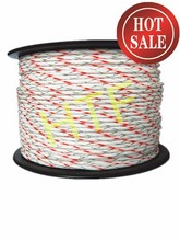 8mm braided rope of electric fence for livestock poulty fence