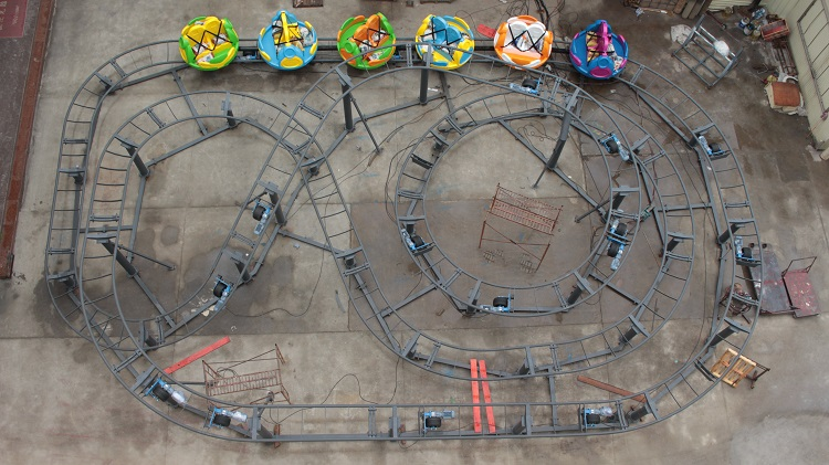 Manufacturer Supply Amusement Park Ride Kids Roller Coaster Equipment