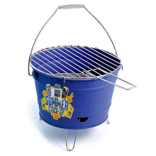 heb charcoal grill galvanized bbq bucket