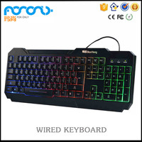 Glow in the dark keypad Rainbow Color Injection Keycap for USB Wired Fabric Cable Mechanical Switch Backlit Gaming Keyboard
