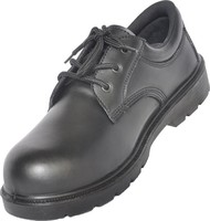 Dockers safety shoes with black leather