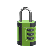 dials safety luggage Password 3 digits number code combinations padlock for maximum security door combination lock for diary