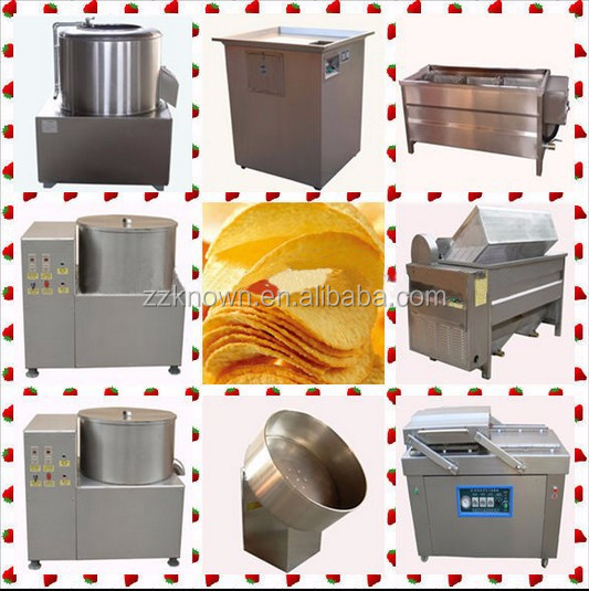 Great performance good quality automatic potato chips making machine price
