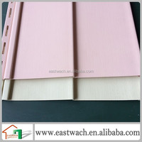 Hot selling 25.4cm pink vinyl siding