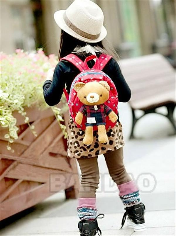 New Cute Animal Toddler Children School Bags Cartoon Backpack Kids School Bag