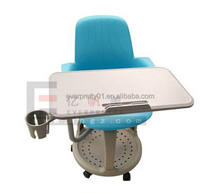 Office Furniture Supplier Node Writing Tablet Chair with Cup Holder