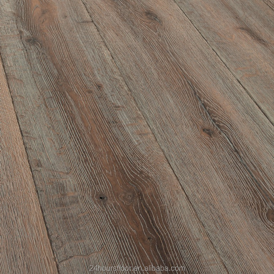 Grey antique oak engineered wood flooring buy golden oak for Antique hardwood flooring