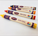 Hot sale multi color hexagonal promotional wax crayons with scent