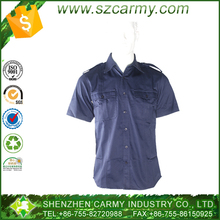 Military officer 30/70% Poly/Cotton uniform combat shirt