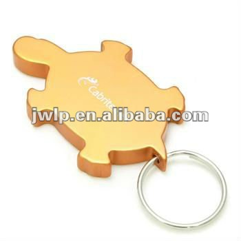 metal animals shape keychain
