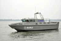 Fast speed coast guard police army Boat landing ship