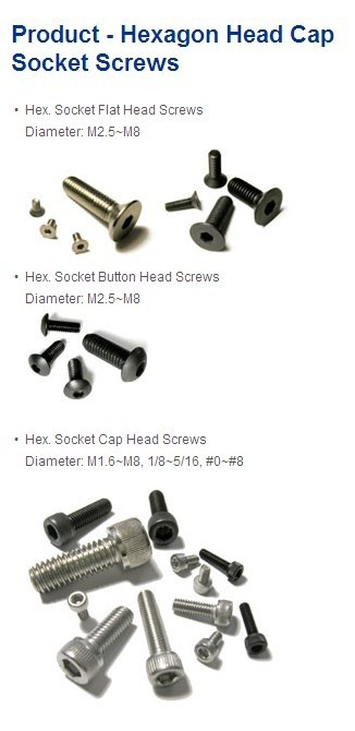 Low price Alloy screws Flat ,button,Cap head