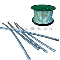 steel cables for gym different types of electrical cables steel wire rope made in china