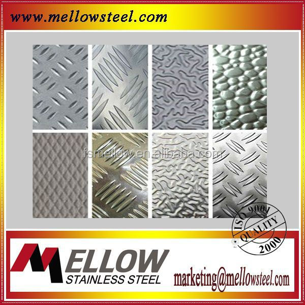 Mellow Stainless Steel Decorative Art Embossed Finsh Finish Plate For Building Decoration
