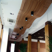 PVC lightweight interior t&g wood ceiling board
