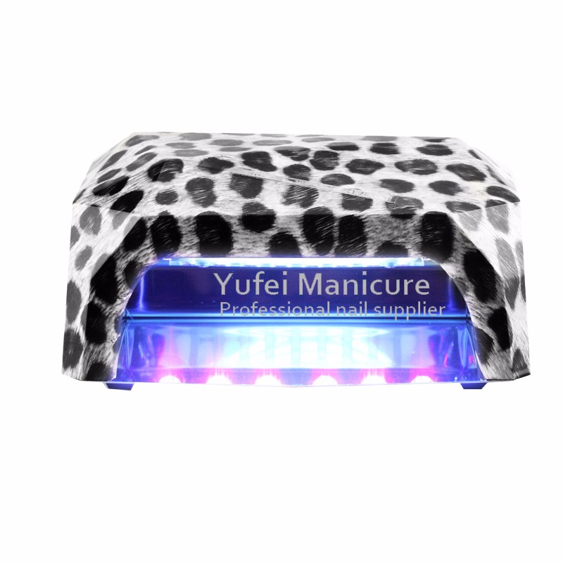 2016 hotselling 36w gel ccfl led buble nail lamp
