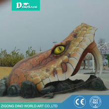 Customized Snake Head Shaped Entrance Gates