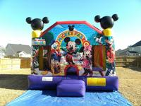 2015 Giant Outdoor Commercial Bouncy Castles,Inflatable Combo for Kids