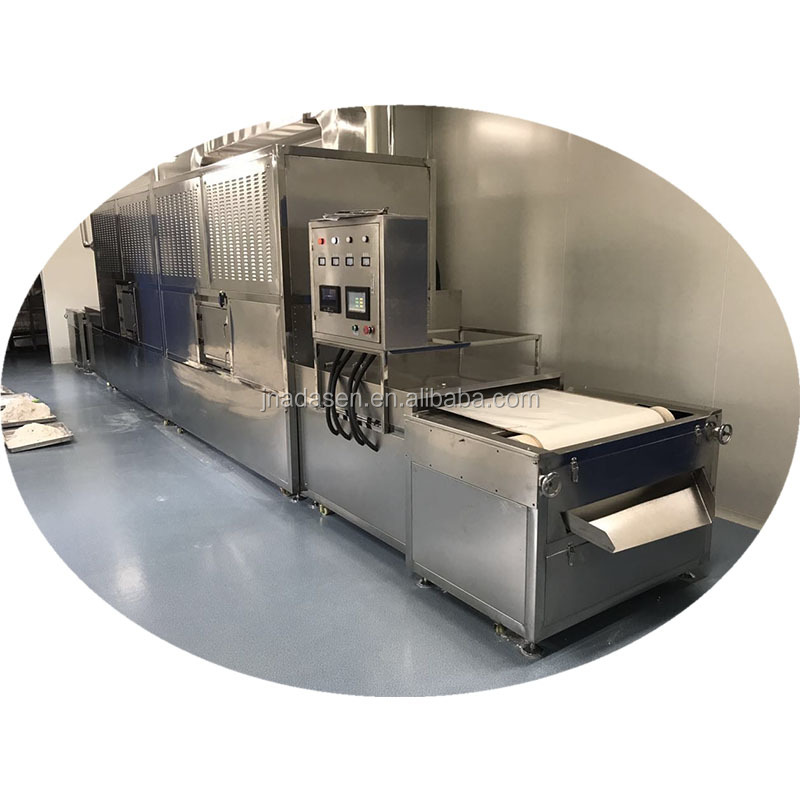 Tunnel type microwave tomato sauce sterilizer machine with CE certification