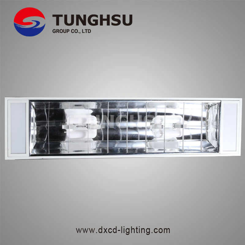 200W High Powr Induction Grid Lamp For Building