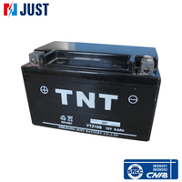China superior quality 12v 8.6ah sealed lead acid motorcycle battery