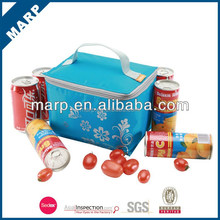 wholesale outdoor cooler folding bag for 6 cola cans