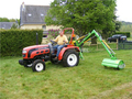 Tractor mounted Hydraulic Flail Mower