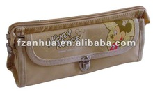 pencil case with 3 pocket