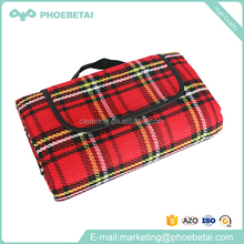 Outdoor garden portable extra large waterproof disposable picnic blanket