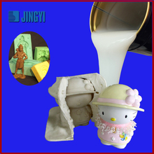 Silicone rubber material for toys mold
