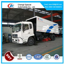 Dongfeng 4x2 prices of Road Sweeper Truck Suction Sweeping Vehicles