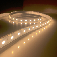 UL Listed Waterproof 12V 4.5W/FT 18LED 432LM Per Foot 16.4FT Roll 80RA CRI Warm White 5000K 5050 led strip light