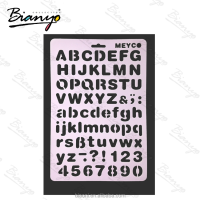 High quality Letters and numbers custom DIY stencil for kids