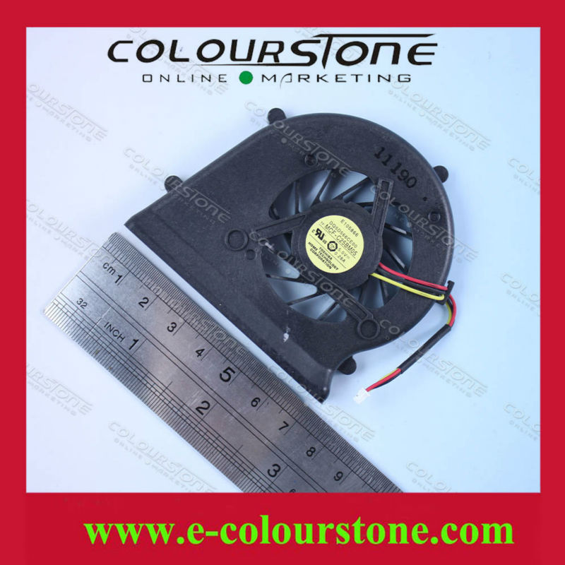 3PIN Notebook CPU Fan For Sony Vaio VGN-BZ560 VGN-BZ570 VGN-BZ Cooler Fan DQ5D566CE00 MCF-C25BM05