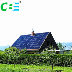 Customized home solar energy system for on grid or off grid