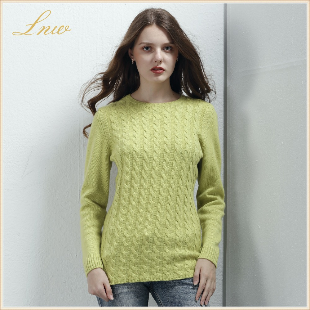 New women round Neck Cashmere Pullover ,100% Cashmere Sweater