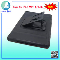 Wholesale High Quality Stand PC+Silicone 8 inch Tablet case for iPad Mini