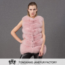 Knitted winter women high grade fur overcoat turkey fur coat