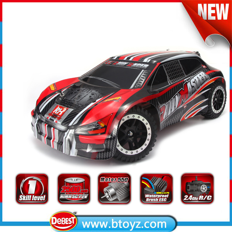 4wd 2.4g 1 8 scale model cars with brushed rally