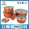 5pcs wholesale stainless steel tin,food container with lid