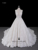 Custom Made A-Line Deep V-Neck Plus Size Wedding Dress