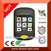 DG-350 touch screen bicycle speed meter /wireless GPS computer with speedometer