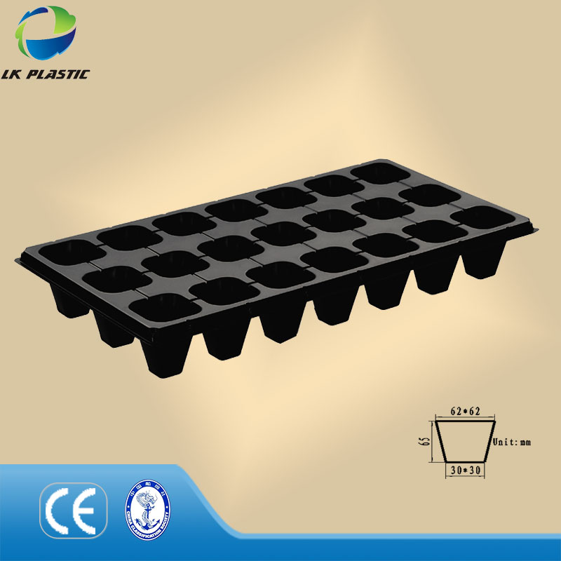 Wholesale PS material garden tray for pepper