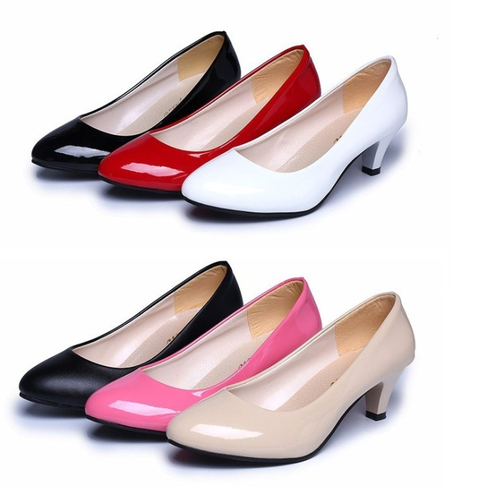 UP-0122J Fancy office lady high heel shoes wholesale dress shoes women