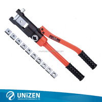 Hydraulic crimping tool with safety valve inside HP-240