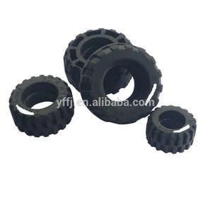Customized Silicone Rubber Wheels Tires For Toy Cars