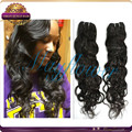 loose deep wave virgin hair human suerior quality hair extension weft natural color 8A virgin human hair